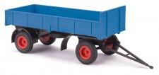 Busch Autos 53301 Anhänger HL.80 blau