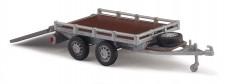 Busch Autos 59954 Transport-Anhänger mit Klappe