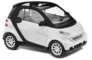 Busch Autos 60202 Bausatz Smart Fortwo ´07, weiß