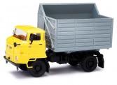 Busch Autos 95538 IFA L60 SHA mit gelbem Fahrerhaus