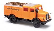 Busch Autos 95612 IFA S4000 TLF16 Werkstattwagen orange