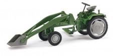 Busch Mehlhose 210004701 Traktor RS09 Ladearm mit Schaufel grün
