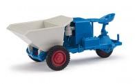 Busch Mehlhose 210006607 Dumper Picco 1 Dreikantfeile blau/weiß