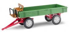 Busch Mehlhose 210009201 Anhänger T4 mit Sitzbank grün/rot