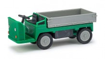 Busch Mehlhose 210009301 E-Karre Dreiseitenkipper grün/grau