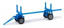 Busch Mehlhose 210009402 Langholzanhänger für E-Karre blau