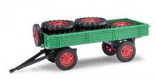 Busch Mehlhose 210010201 Anhänger T4 mit Ladung grün