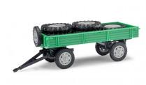 Busch Mehlhose 210010202 Anhänger T4 mit Ladung grün