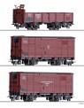Tillig 01273 GHE Güterwagen-Set 3-tlg. Ep.2