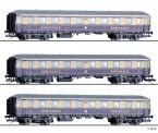 Tillig 01784 Rheingold-Express Wagen Set 3-tlg. Ep.2