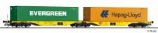 Tillig 18069 CLIP Containertragwagen Sggmrs Ep.6