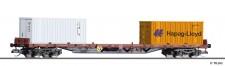 Tillig 18134 BDZ Containertragwagen Rgs Ep.6