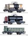 Tillig 70051 LD PKP CFR Güterwagen-Set 3-tlg. Ep.2
