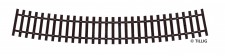 Tillig 82022 Schwellenband gebogen R545 22,5°