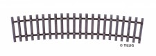 Tillig 82027 Schwellenband gebogen R600/15°