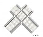 Tillig 87228 Kreuzung Pflastersteine asymmetrisch