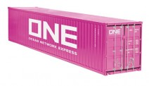 NZG 978-02 40ft Container One magenta