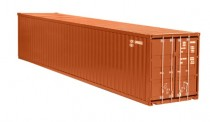 NZG 978-70 40ft Container braun