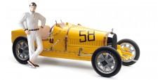 CMC M-100-017 Bugatti Typ 35 Grand Prix m.Figur
