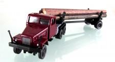 Modelltec 14101527 G5 Langholztransporter weinrot