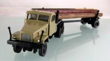 Modelltec 14101528 G5 Langholztransporter sandbeige