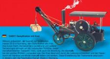 Wilesco 00405-1 D405/1 Dampftraktor mit Kran