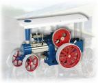 Wilesco 00405 D405 Dampftraktor blau