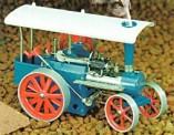 Wilesco 00415 D415 Bausatz Dampftraktor blau