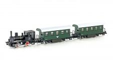 Kato 105003 Personenzug mit Dampflok 3-teilig