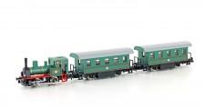 Kato 10503-1 Personenzug mit Dampflok 3-teilig