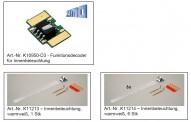 Kato 10950-D4 7x Innenbeleuchtung und Funktionsdecoder
