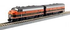 Kato USA 1060420 GN Diesellok F7 A+B Ep.3