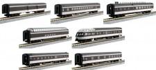 Kato USA 106102 CN Personenwagen-Set 7-tlg. Ep.3