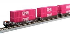 Kato USA 1066194 BNSF Containerwagen-Set 5-tlg Ep.5