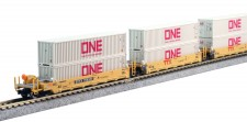 Kato USA 1066196 TTX Containerwagen-Set 5-tlg Ep.5