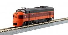 Kato USA 1762301 MILW Diesellok FP7A Ep.3