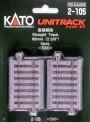 Kato Noch 02105 Gleis gerade 60 mm, 4 St.