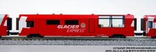 Kato Noch 74031 RhB Wagenset 4-tlg Glacier Express Ep.5