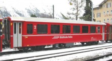 Kato Noch 74045 RhB Personenwagen Set 4-tlg Ep.5/6