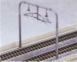Kato Noch 78518 Oberleitungsmasten 2-gleisig, 6 St.
