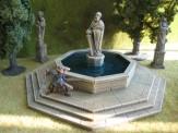 Ziterdes 6012403 Dorfbrunnen mit Dach