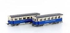 Hobbytrain 22071 Zugspitzbahn Personenwagen 2-tlg Ep.2/3