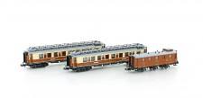 Hobbytrain 22102 CIWL Personenwagen-Set Ep.1