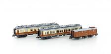 Hobbytrain 22103 CIWL Personenwagen-Set Ep.1