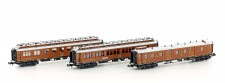 Hobbytrain 22105 CIWL Personenwagen-Set 3-tlg Ep.1
