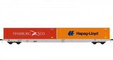 Hobbytrain 23103 Boxxpress Containerwagen Sggnss'80 Ep.6