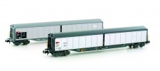 Hobbytrain 23460 SBB Schiebewandwagen-Set 2-tlg Ep.4/5