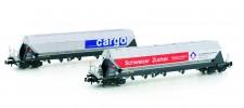 Hobbytrain 23467 SBB Cargo Silowagen-Set 2-tlg Ep.6