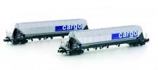 Hobbytrain 23468 SBB Cargo Silowagen-Set 2-tlg Ep.6