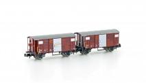 Hobbytrain 24202 SBB gedeckte Güterwagen-Set 2-tlg Ep.4